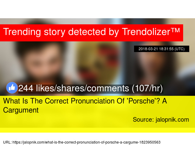 What Is The Correct Pronunciation Of '